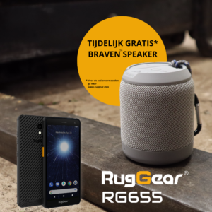 Speakeractie RugGear RG655